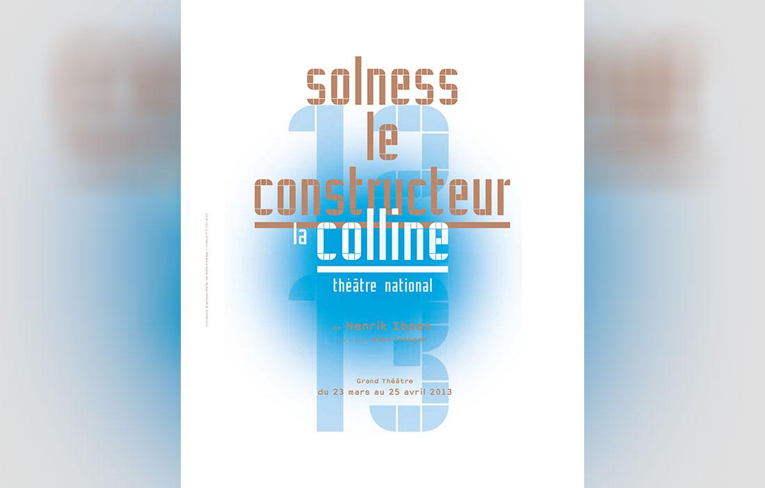 Compagnie Alain Françon - Théâtre des Nuages de Neige - «Solness le Constructeur» d'Henrik Ibsen