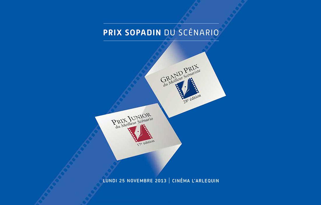 Prix Sopadin du Scénario 2013