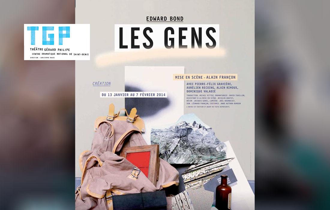 Compagnie Alain Françon - Théâtre des Nuages de Neige - «Les Gens» de Edward Bond