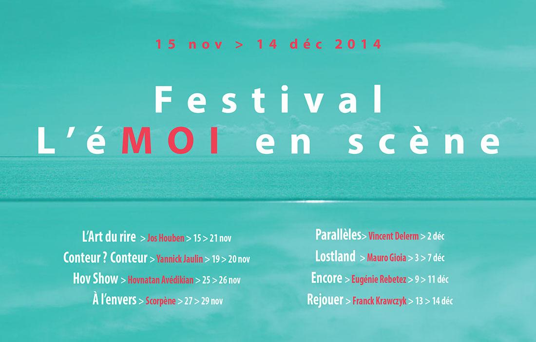 TNN - Direction Irina Brook - Festival «l'éMoi en scène»