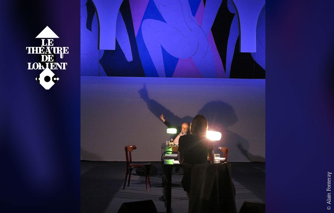 Le Théâtre de Lorient - Direction Eric Vigner - «Chatting with Henri Matisse»