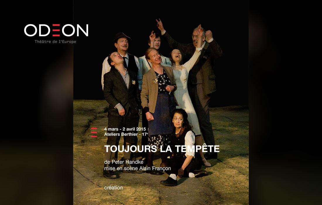 Compagnie Alain Françon - Théâtre des Nuages de Neige - «Toujours la tempête» de Peter Handke