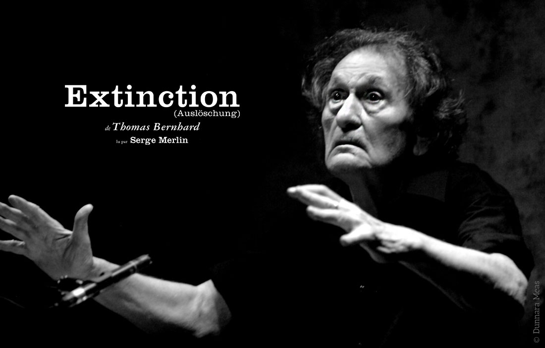 Compagnie Alain Françon - Théâtre des Nuages de Neige - «L'Extinction» de Thomas Bernhard