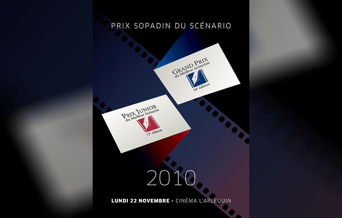 Prix Sopadin du Scénario 2010