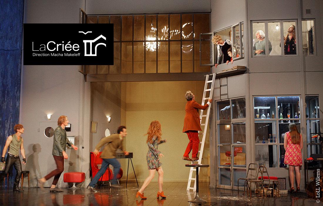 Théâtre National de Marseille La Criée - «Trissotin ou les femmes savantes» de Molière