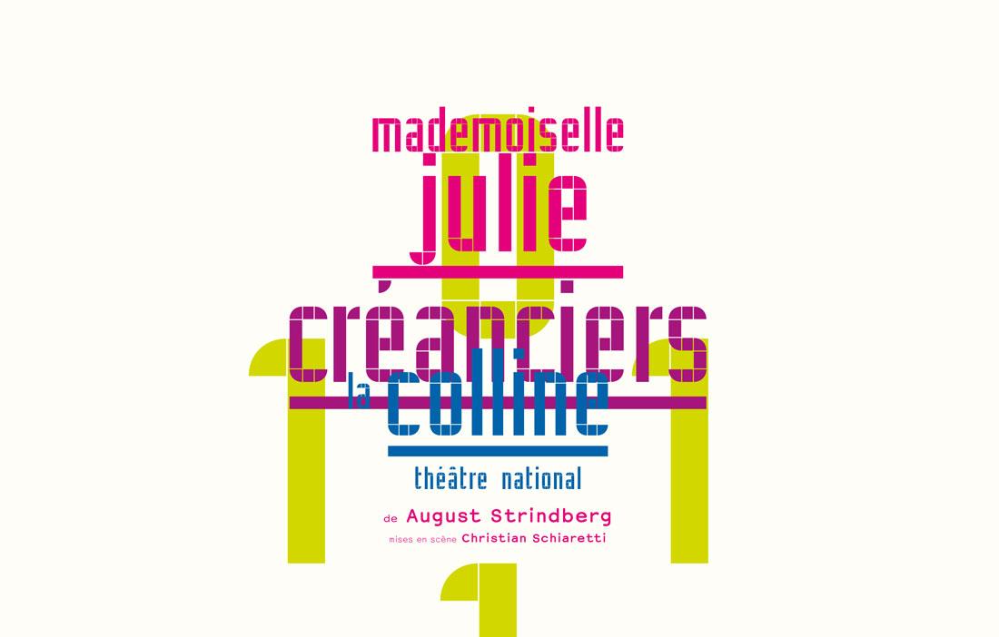 TNP Villeurbanne - Direction Christian Schiaretti - «Mademoiselle Julie» & «Créanciers» de August Strindberg